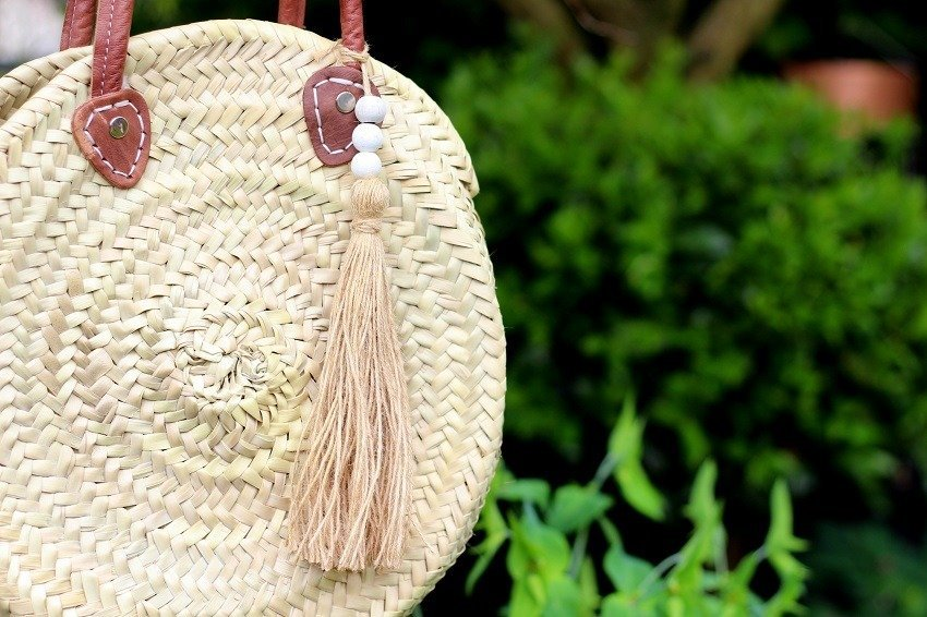 How To Make A Tassel for your basket bag Using A Book!