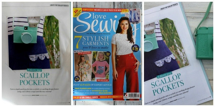 lazy daisy jones in the press love sewing magazine