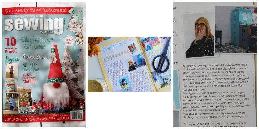 lazy daisy jones in sewing world magazine