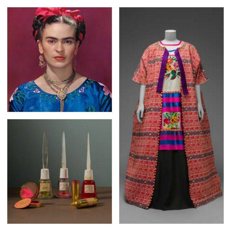 Wearing Van Gogh To See Frida Kahlo