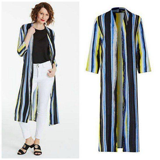 Casual Sunday Supper Boho Style kimono jacket