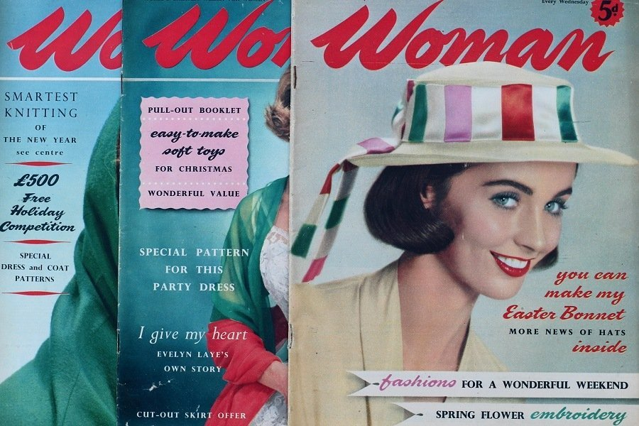 vintage woman magazines 99 Ways To be Popular In 1958