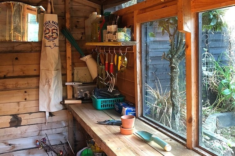 Lately 5 Things We Did July 2018 new potting shed