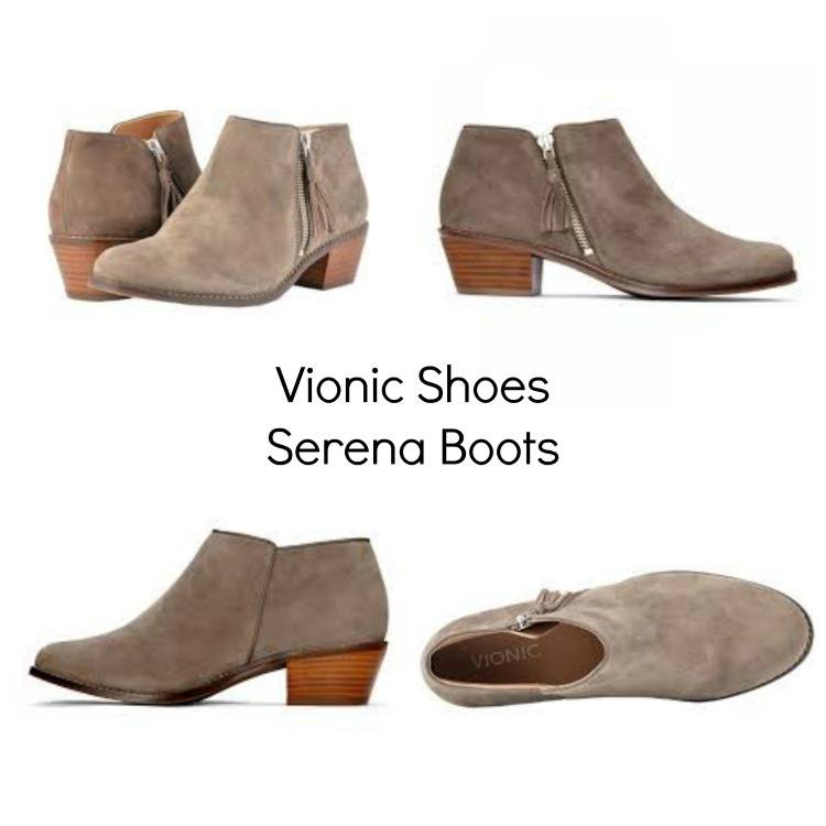 New Season New Shoes! Wearing Vionic Serena Boots