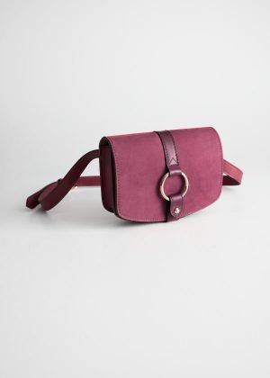 Suede Belt Bag