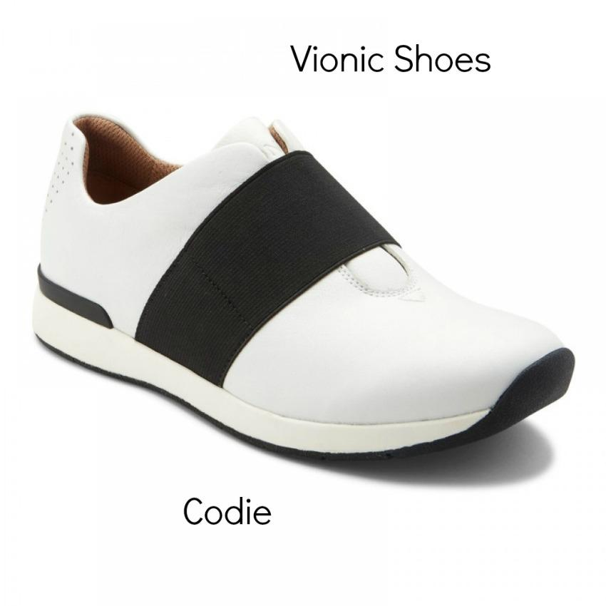 New Season New Shoes! Vionic Codie in white