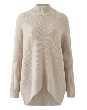 High Neck Rib knit