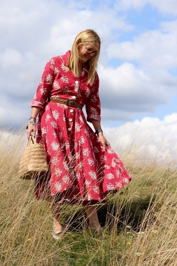 Glancing Back At Summer A Horrockses Fashion Vintage Dress
