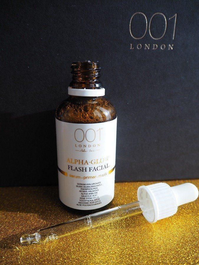 001 London Skincare Cryopress Alpha Flash Facial it actually works!