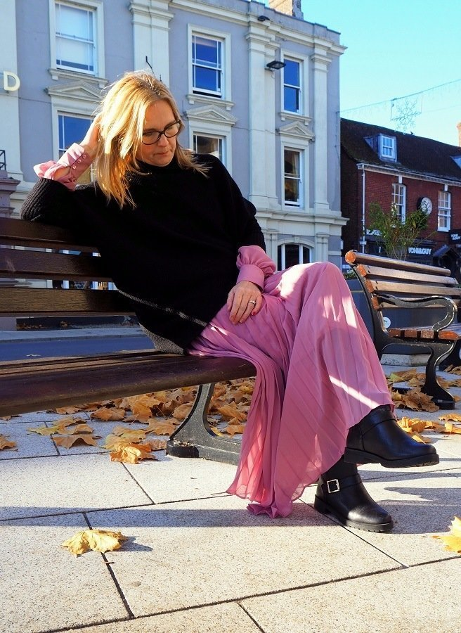 A Style Post How I Wear Dresses In Winter