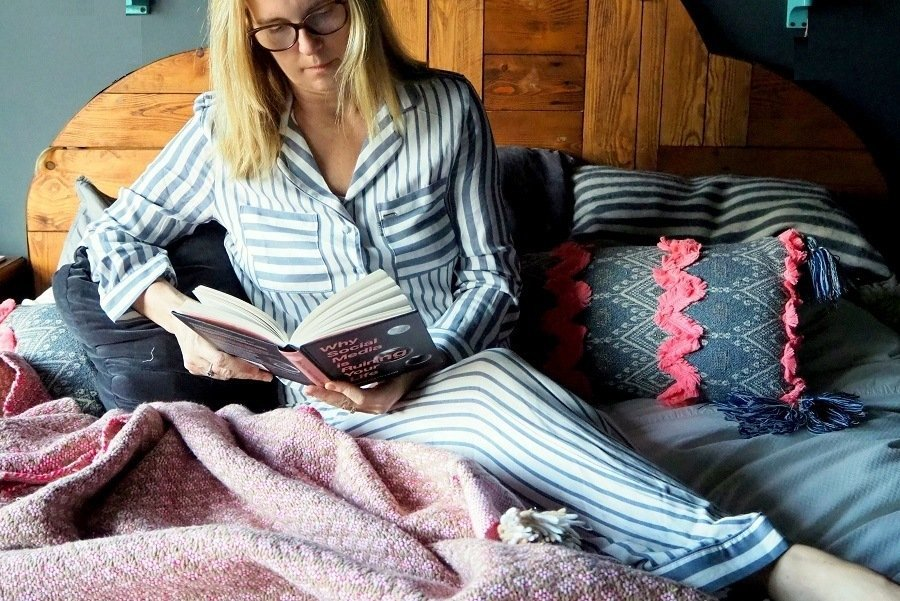 What I Am Wearing In Bed This Winter cosy pyjamas