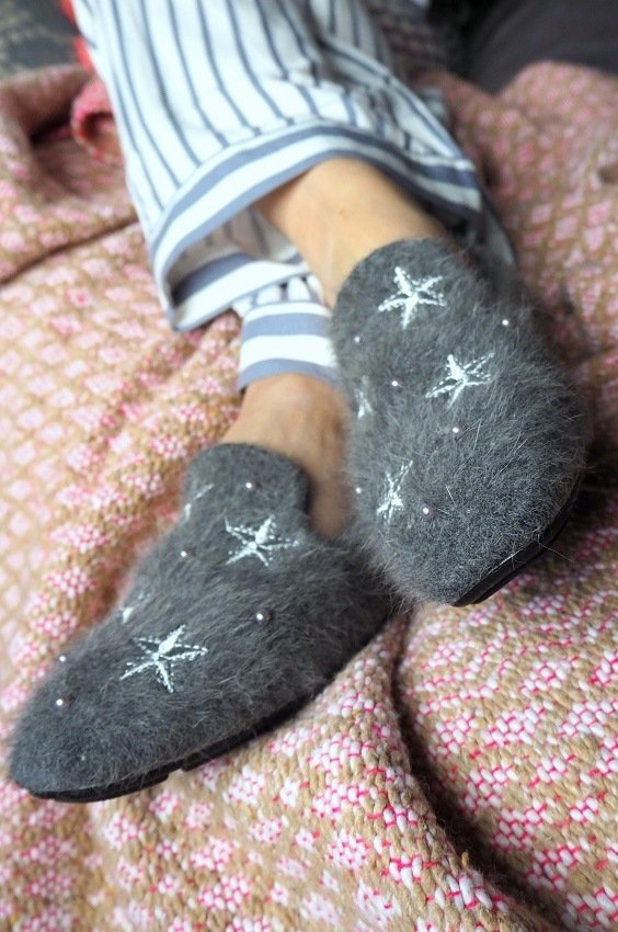 What I Am Wearing In Bed This Winter cosy pyjamas pretty You London