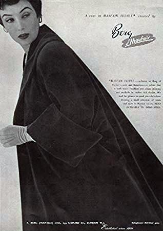 Berg Of Mayfair Vintage Coat