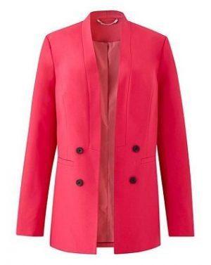 hot pink edge to edge jacket