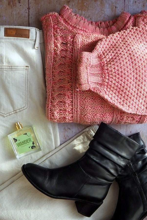 image of jeans and jumper 6 Top Tips: How To Create A Fabulous Fashion Flat lay