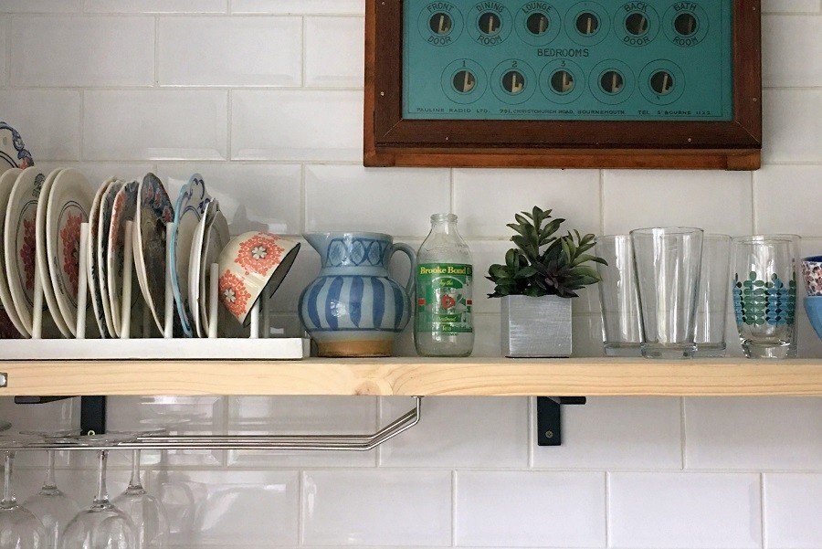Lately December 2018 6 Things Marc Made Restored & Fixed. kitchen shelf scaffold planks