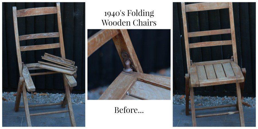 December 2018 vintage chair restoration
