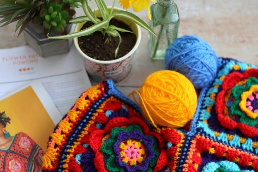 In the Spring My Creativity Reawakens: 3 New crochet Projects