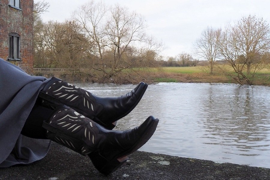 Restyle & Rewear : 25 year old Cowboy Boots