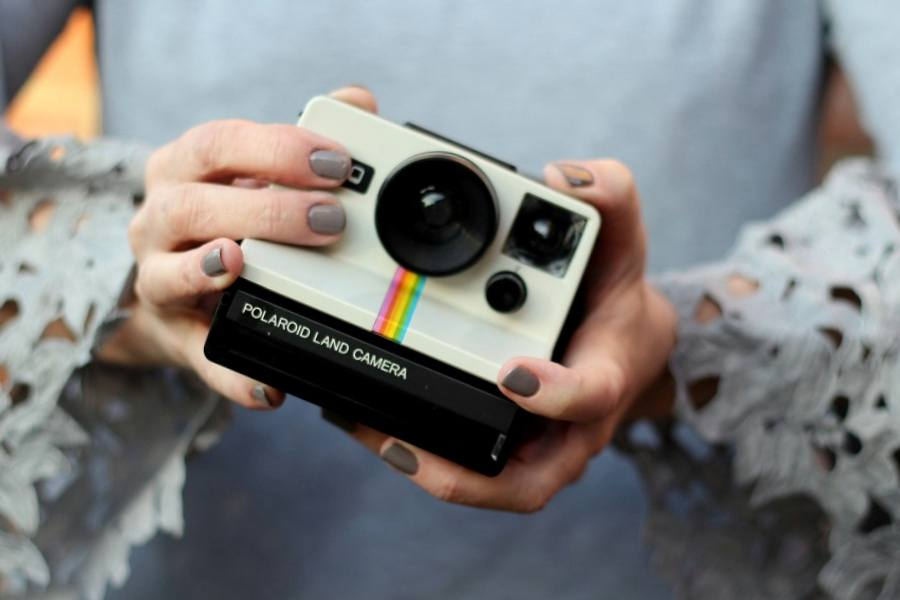 A Vintage Polaroid Camera collection