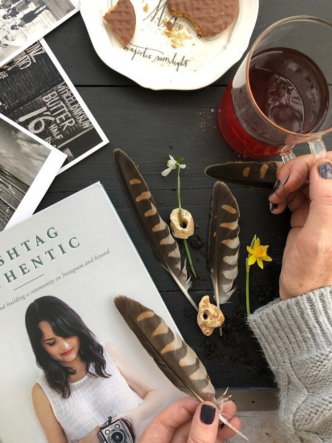 sara Taskers book hashtag authentic editing tools for instagram