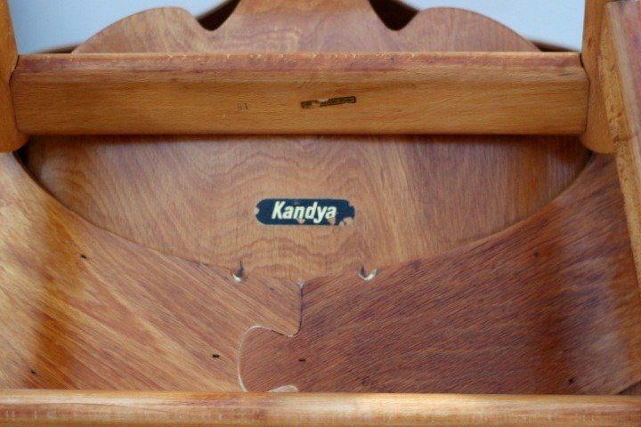 Mid Century Modern Kandya Jason Chair Rescued & Restored