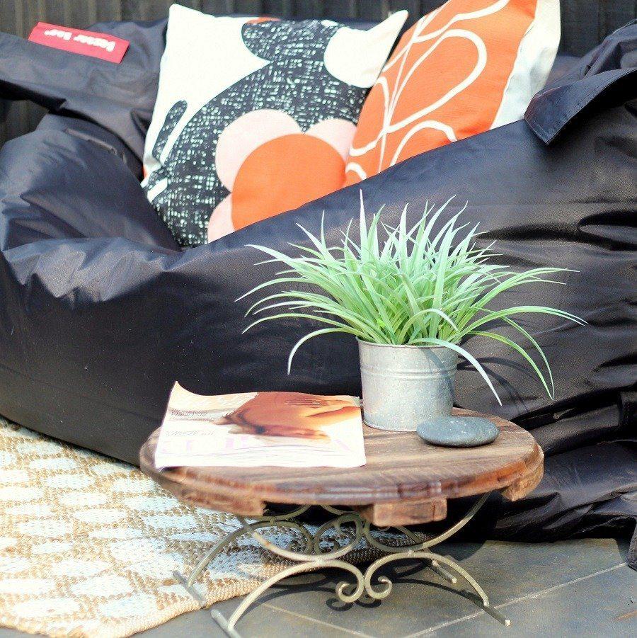 Giant Beanbag Sparks Joy in Dorset Garden!