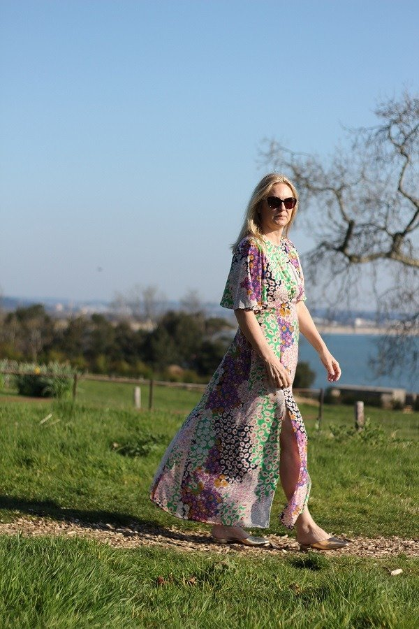 That Austin Dress In a Dorset Field