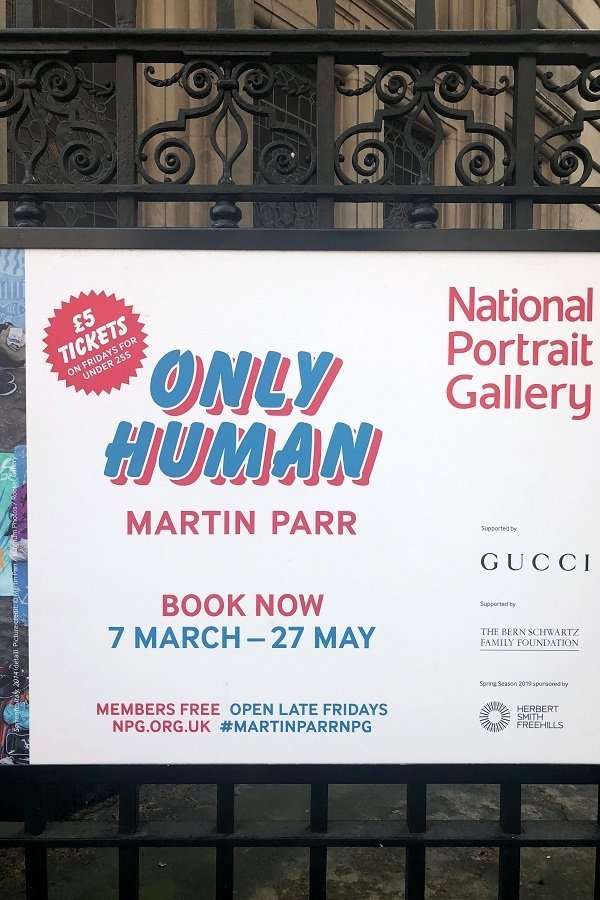 martin parr National portrait gallery 2019