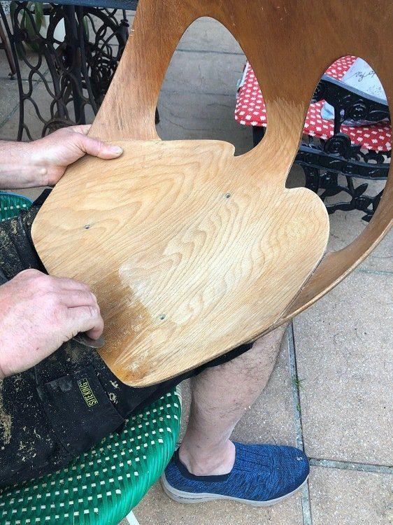 Mid Century Modern Jason Kandya Chair Rescued & Restored
