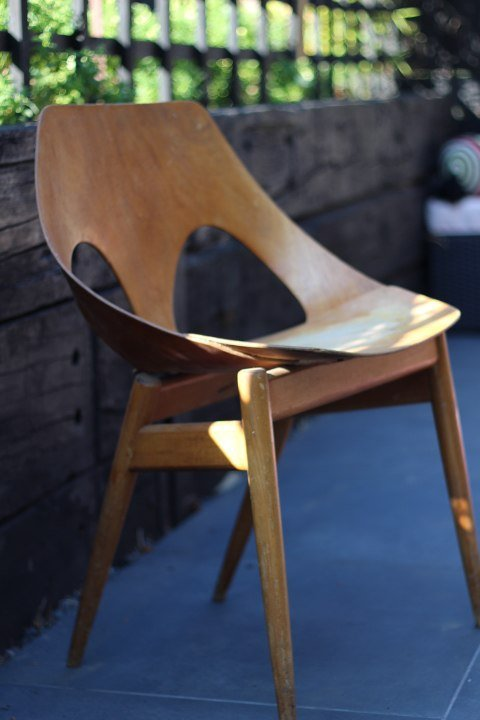 Mid Century Modern Kandya Chair Rescued & Restored