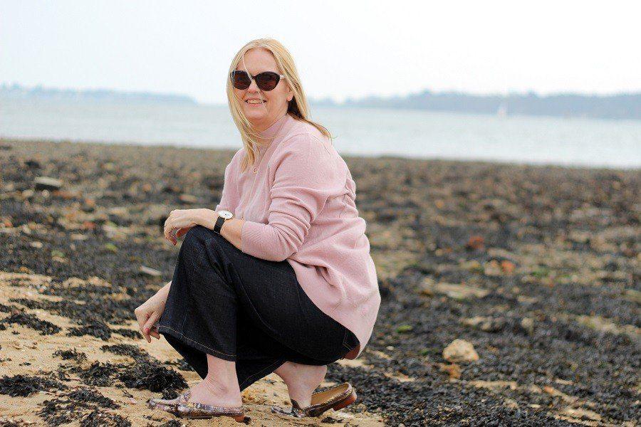 Sunday on The Beach Wearing Van Dal Summer Mules
