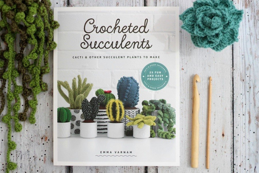 Crochet Succulents Are The Easiest Plants To Care For...