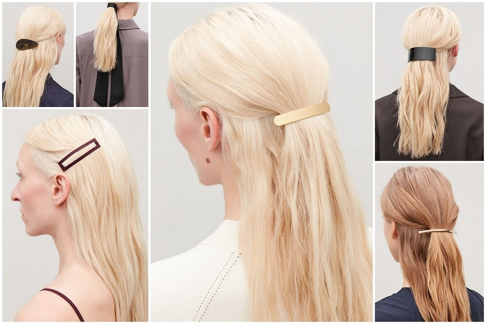Hair accessories from Cos barrettes