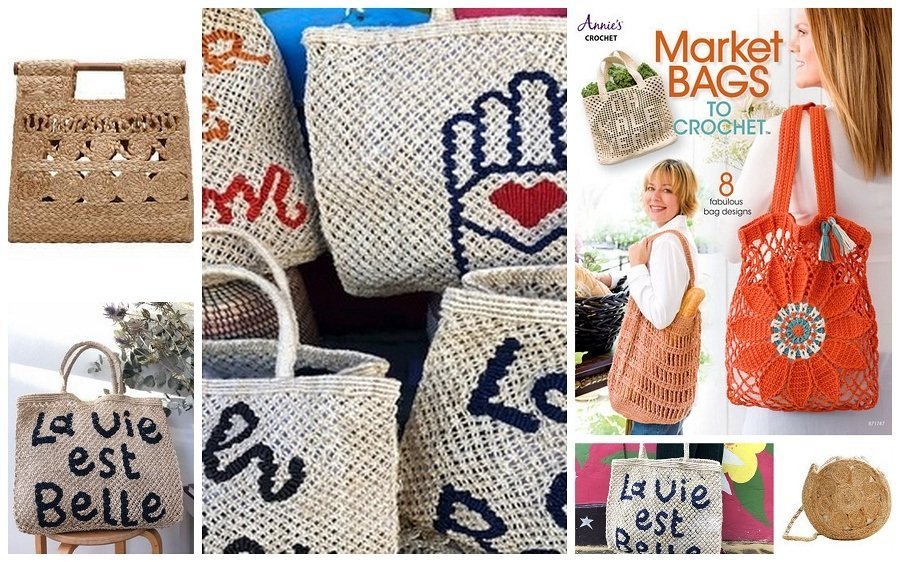 basket bags I like and have included in an Email newsletter