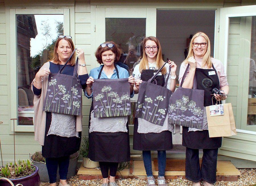 My Dorset: A Block Printing Workshop With Melanie Ward