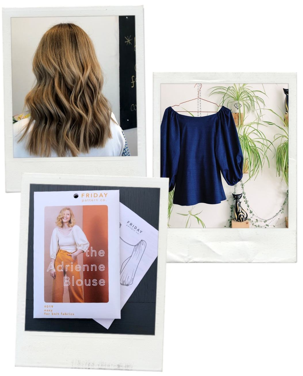 Life Lately, Snapshots of June and July 2019 Hair cut and sewing