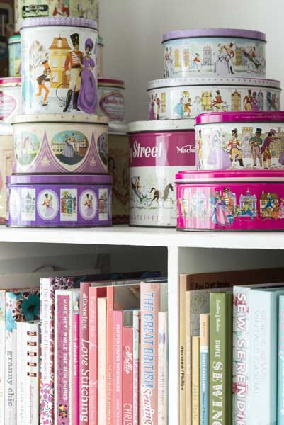 vintage quality street tins another interior collection in our home