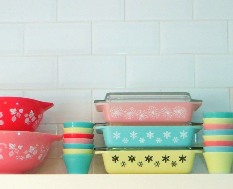 vintage pyrex our interior collections