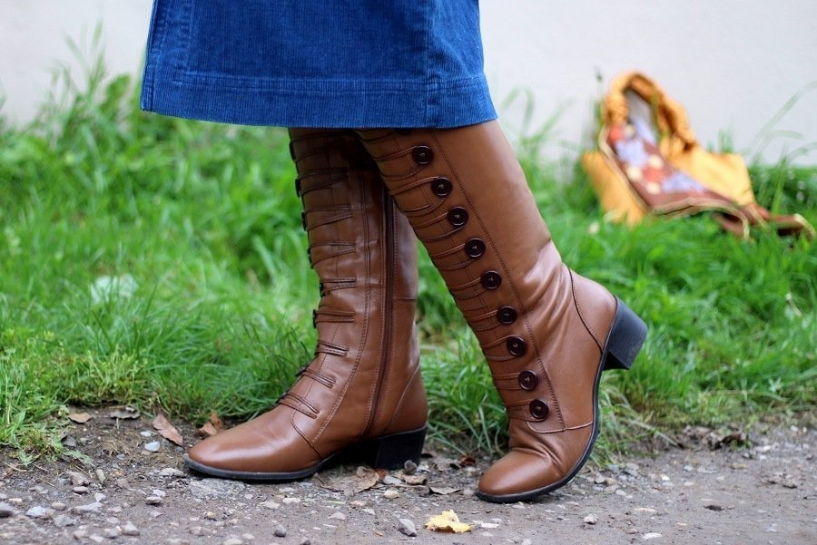 Lotus Leather Spindle Boots are the Winners For Autumn 2019