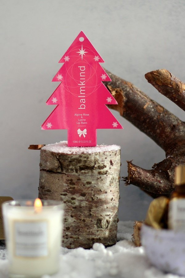 New Christmas Beauty Products & Sara Miller Advent Calendar balmkind lipbalm