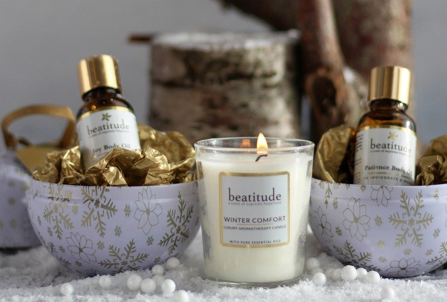 New Christmas Beauty Products & Sara Miller Advent Calendar beatitude aromatherapy gifts