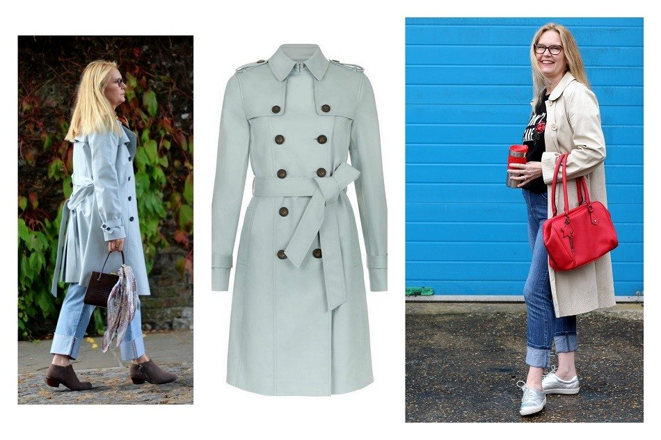 the trench the 2020 style trends I love, already live in and will wear week after week.