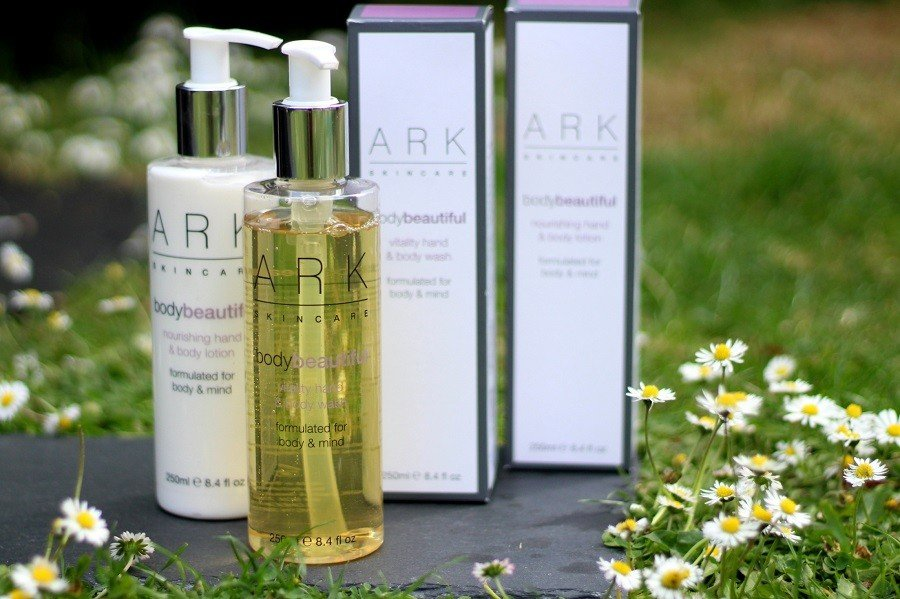 Ark Skincare body beautiful set, hand and body lotion and wash