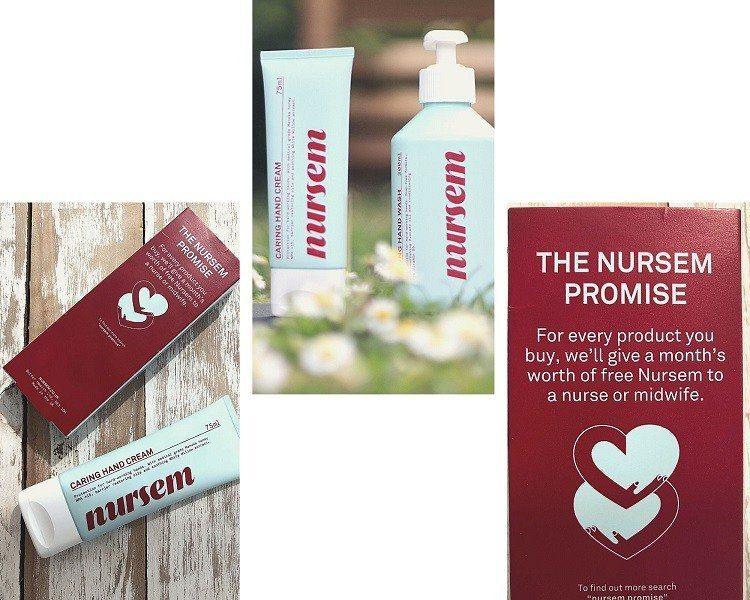 Nursem hand care for nurses