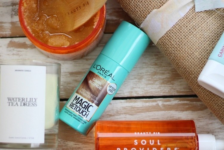 l'oreal magic touch root touch up for lock down hair problems