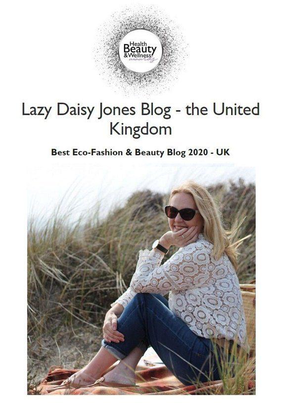 best UK Eco Fashion and Beauty blog 2020