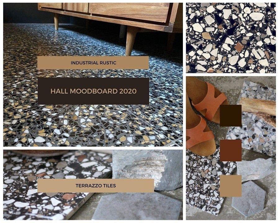 terrazzo tiles moodboard