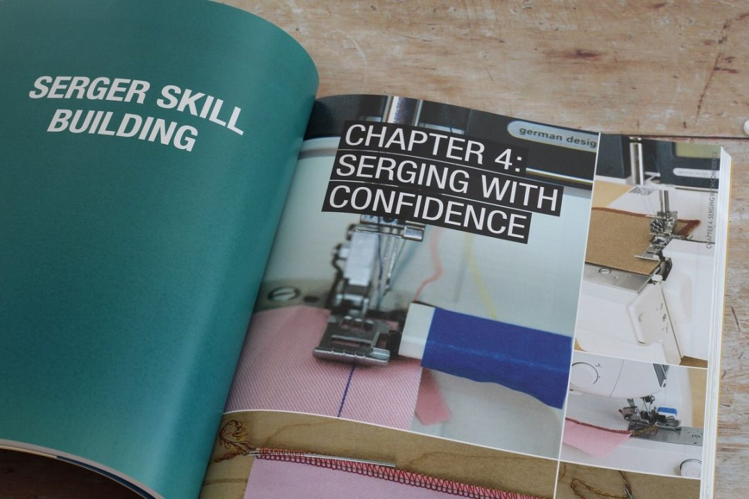 serging with confidence serger 101 book