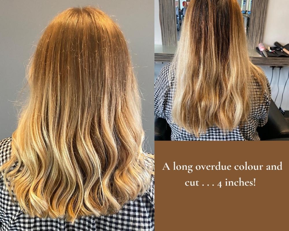 blonde hair waves haircut